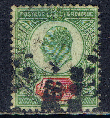 Great Britain #130(1) 1902 2 pence yellow green & carmine Edward VII SCV$10.00