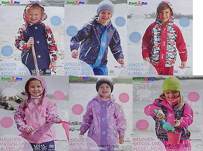 Young Girl Rain Jacket Mud Digging Weather Children's