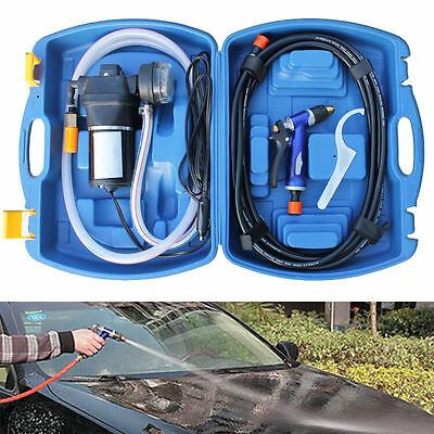 12V Car Washing Device Portable Vehicle Cleaner Blue Case High Quality