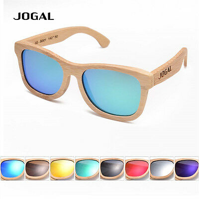 New Handmade Bamboo Wood Sunglasses Vintage Wooden SunGlasses Polarized HNU