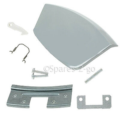 CANDY Genuine Washing Machine Door Handle Kit Lever Replacement 49007818