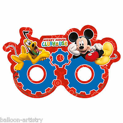 6 Disney Mickey Mouse Playful Clubhouse Children's Party Favours Eye Masks