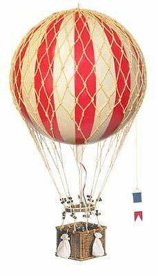 Authentic Models AP163R Royal Aero Hot Air Balloon Decoration True Red 32cm