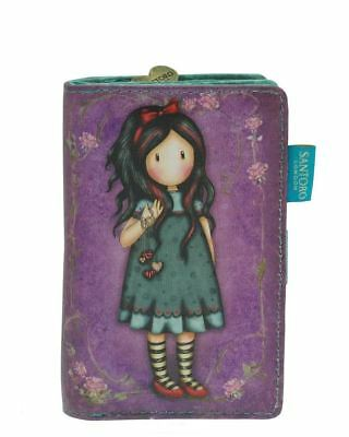 Santoro Gorjuss Small Wallet - Pulling On Your Heart Strings