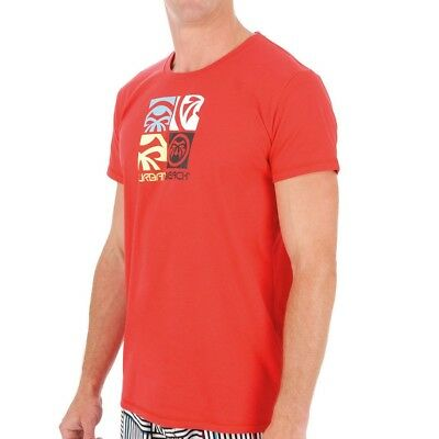 Urban Beach Mens Cotton Quad Casual Tee Shirt - GA0283