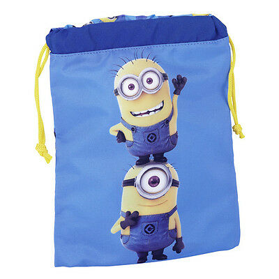 Despicable Minions Lunch Bag Gym Sack School Gift New Official Licensed Product