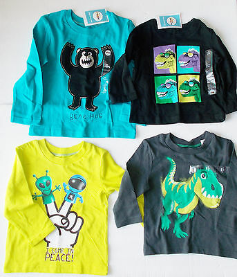 Circo Toddler Boys T-Shirts Various Patterns and Colors Sizes 18M, 2T and 4T NWT
