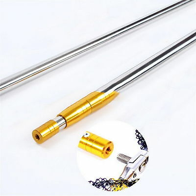 6.2ft Gold Head Ring M8 Prong Harpoon Spear Gun Gig Rod Fish Frog Salmon Eel S