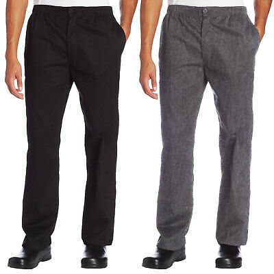 Chef Code Classic Trouser Chef Pant - Elastic Waist with Button and Zipper CC225