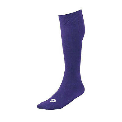 Adult Women's DeMarini Baseball / Fastpitch Softball Socks, Size: XL, Purple