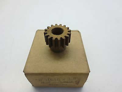 "Browning Nfs1616 Spur Gear 3/8"" Bore 16 Teeth"