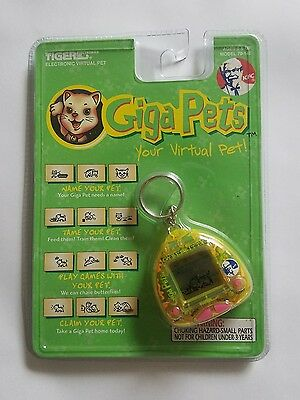 Giga Pets Cyber Kitty Electronic Pet Cat By Tiger Electronics KFC 1997 - New