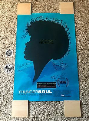 "Kashmere Stage Band ""thunder Soul"" Rare Xl Sxsw Poster!! Signed!! (Stones Throw)"