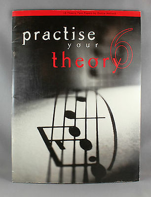 Practise Your Theory 6 by Dulcie Holland - 10 Theory Test Papers - Brand New