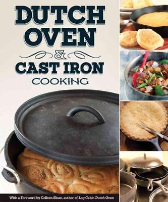 Dutch Oven & Cast Iron Cooking - New Paperback Book