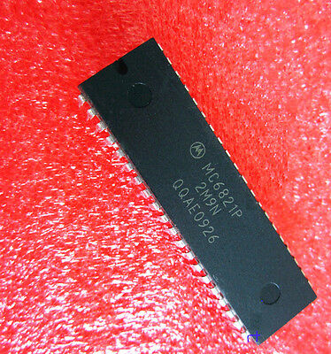10Pcs Ic Mc6821 Mc6821P Motorola Dip40 New