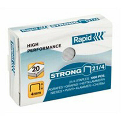 10 x RAPID Strong Staples 21/4 High Performance Box of 1000 (10,000pcs)