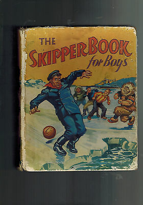 SKIPPER BOOK FOR BOYS 1938 vintage annual