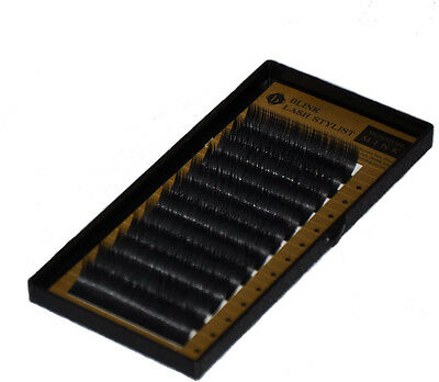 Eyelash extensions BL Lash Signature Blink Mink Tray D Curl .25mm different size