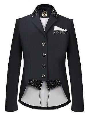 New! Ladies Fair Play Bea Dressage Jacket In Black Sizes Eu34 Up To Eu46