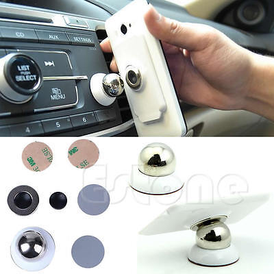 Universal 360 Magnetic Phone Mobile Car Dash Holder Magic Stand Mount iPhone