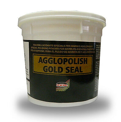 AGGLOPOLISH GOLD SEAL-POLISHING POWDER for MARBLE& AGGLOMERATES - Dia-Glo Powder