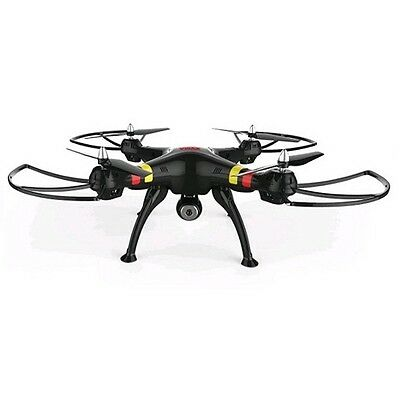 Syma X8W 2.4Ghz 4CH FPV Real Time Headless RC Quadcopter with Wifi Camera Black