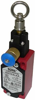 SUNS SN6170-SL-A-R Cable Pull Safety Switch with Reset 1NO/1NC