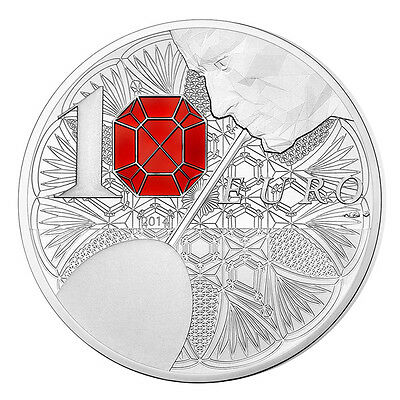 10 Euro Silber Baccarat French Excellency Frankreich 2014 Polierte Platte