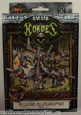 Hordes Trollbloods Trollkin Highwaymen Unit PIP 71096 - NEW