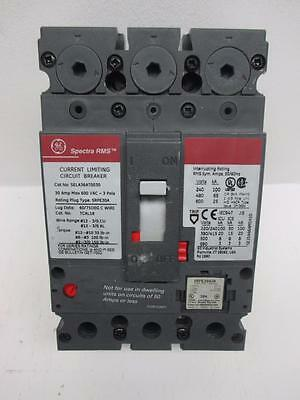 General Electric SELA36AT0030 30A 3 Pole Circuit Breaker w/20A Rating Plug