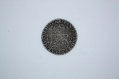 Mexico 8 Reales 1768 Coin - Hole