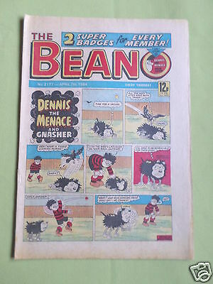 The Beano  - Uk Comic - 7 April 1984  - #2177