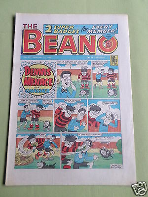The Beano  - Uk Comic - 1 Feb 1986  - #2272