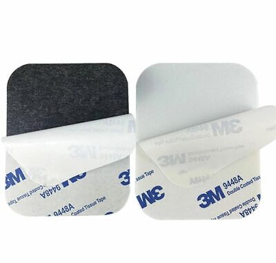 BLACK or WHITE ~ 3mm Thick ~ 3M EVA Foam Pad ~ Double Sided Tape Square ~ 9448 A