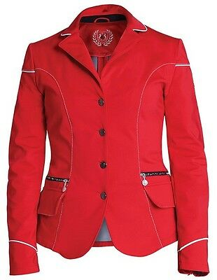 New!!! Fair Play Viki Ladies Red Softshell Competition/show Jacket