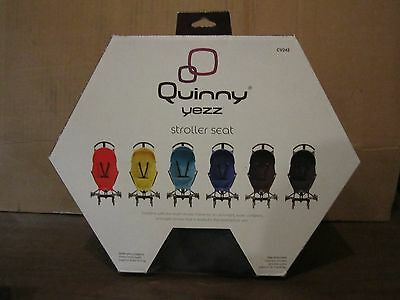 Quinny Yezz Stroller Seat 6 Months Up to 40 Pounds Grey Road New In Box