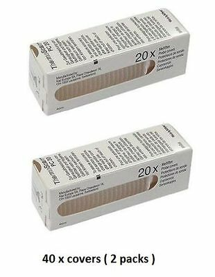 NEW Braun Pack of 40 Covers for Ear ThermoScan Thermometer Lens Filters Probe