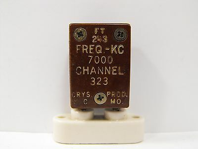 (1) Crys. Prod 7000 KHz / 7.000 MHz FT-243 Crystal for 40 Meters Ham Radio