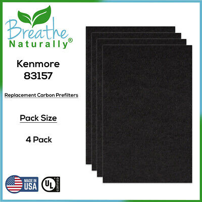 NEW SEARS KENMORE Air Cleaner Replacement Carbon Filters 83313 For