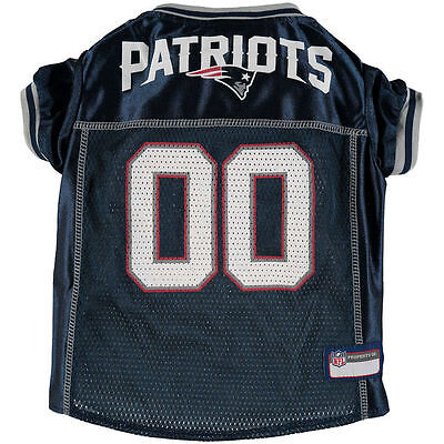 New England Patriots Dog Jersey Officially Licensed NFL Products