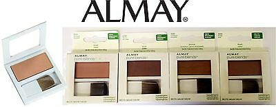 Almay Pure Blends Blusher / Bronzer Brand New With Brush **choose Shade**