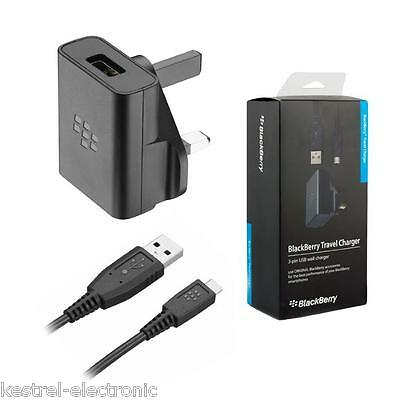 Genuine Blackberry Micro USB Charger ASY-46444-003 For Z10 Q10 Q20 9320 9720 Q5