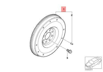Genuine Mini R50 R52 Cabrio Coupe Flywheel Oem 11227535599 47246