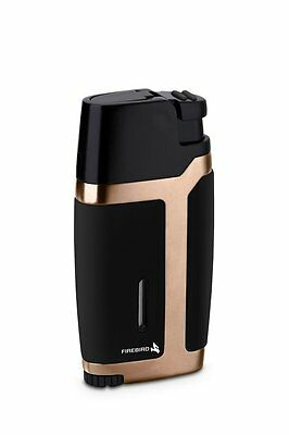 Colibri Volt Single Jet Torch Lighter Black & Gold Brand New And Gift Boxed