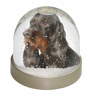 Gordon Setter Dog Photo Snow Dome Waterball Stocking Filler Gift, AD-GOR1GL