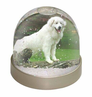 Pyrenean Mountain Dog Photo Snow Dome Waterball Stocking Filler Gift, AD-PM1GL