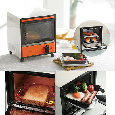 Mini Toaster Oven Electric Kitchen Fashion Small Appliance Recolte Japan 2Colors