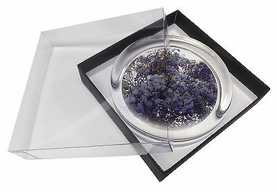 Cascading Wisteria Flowers Glass Paperweight in Gift Box Christmas Pres, FL-11PW