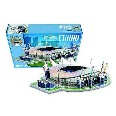 MANCHESTER CITY FC Etihad Stadium 3D Puzzle gift football mens boys gifts